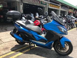 Kymco Xciting 400abs for sale