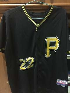 BISA NEGO Jersey MLB Baseball Pittsburgh Pirates