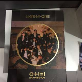 price reduced ; wanna one i promise you night ver