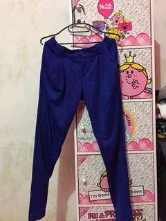 Blue Electric Pants