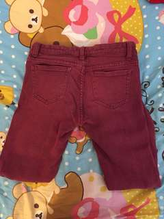 Red Jeans size 26