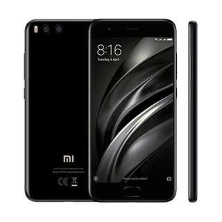 Xiaomi Mi 6 Smartphone 4/64GB Black ( Kredit Mudah )