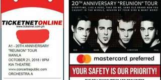 A1 Concert Tour in Manila