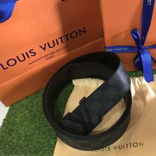 Louis vuitton belt mens damier