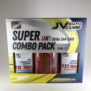 JV Auto Super Combo Pack 3 in 1