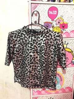 Crop Top Leopard