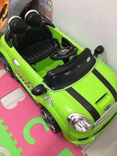 Green Mini Cooper