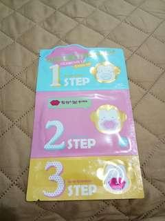 Golden Monkey Glamour Lip 3-step Kit