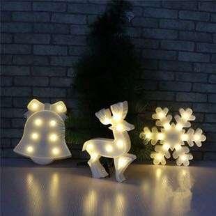 麋鹿小夜燈