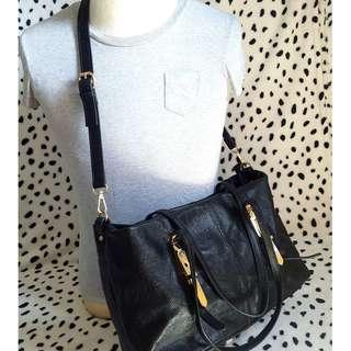Leather Bag 2 way