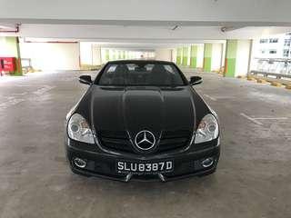Merc SLK 280 V6 3.0cc