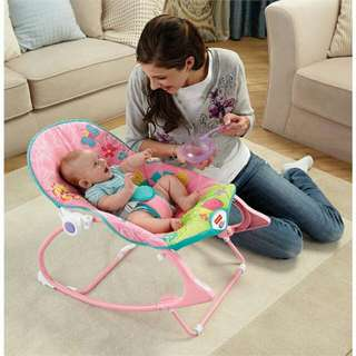 Fisher Price Rocker Pink Butterfly