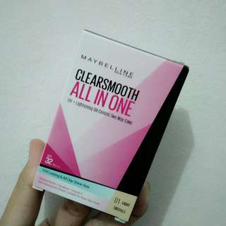 Maybelline ClearSmooth All in one ( Bedak )