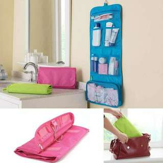 Travel Toiletry Hanging Organizer Bag