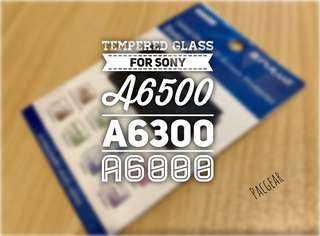 Tempered Glass for Sony A6500 A6300 A6000 Mirrorless APS-C Cameras