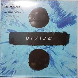 Vinyl Double LP : Ed Sheeran - Divide (Deluxe Edition)