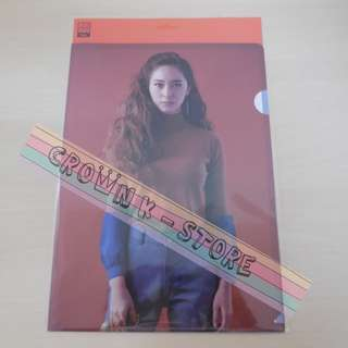 [CRAZY DEAL 90% OFF FROM ORIGINAL PRICE][READY STOCK]f(x) KRYSTAL KOREA OFFICIAL A4 SIZE CLEAR FILE 1PC!!OFFICIAL ORIGINAL FROM KOREA (PRICE NOT INCLUDE POSTAGE)PLEASE READ DETAILS FOR MORE INFO; POSLAJU:PENINSULAR AREA :RM10/SABAH SARAWAK AREA: RM15