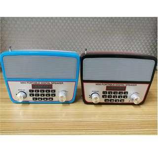 MINI PORTABLE DIGTAL Bluetooth speaker  With FM RADIO