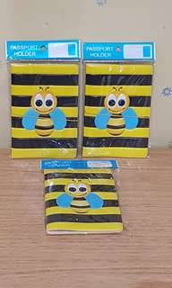 Bee Passport Holder