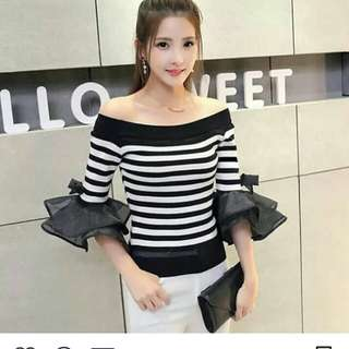 Blouse rajut import