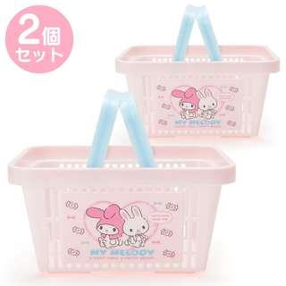 [PO] Sanrio Japan My Melody Mini Basket 2 Pieces