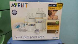 Avent Feeding Bottles Starter Kit