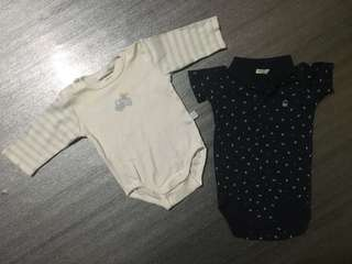 Baby Rompers 0-3m