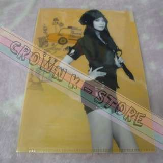 [CRAZY DEAL 90% OFF FROM ORIGINAL PRICE][READY STOCK]GIRLS GENERATION SNSD YOONA KOREA OFFICIAL A4 SIZE FILE 1PC! ORIGINAL FROM KOREA (PRICE NOT INCLUDE POSTAGE)PLEASE READ DETAILS FOR MORE INFO; POSLAJU:PENINSULAR AREA :RM10/SABAH SARAWAK AREA: RM15