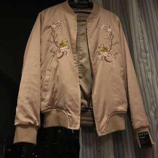 Embroidered Bomber Jacket #Rayasale #Nogstday