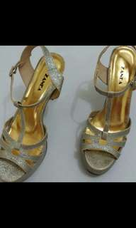 Silver High Heels (FREE SHIPPING)