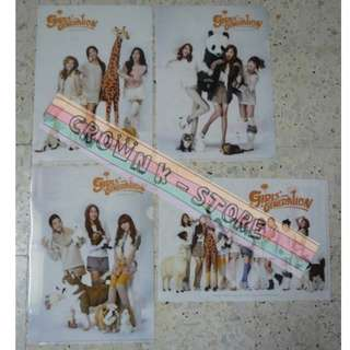 [CRAZY DEAL 90% OFF FROM ORIGINAL PRICE][READY STOCK]GIRLS GENERATION SNSD KOREA OFFICIAL A4 SIZE FILE 4PC! ORIGINAL FROM KOREA (PRICE NOT INCLUDE POSTAGE)PLEASE READ DETAILS FOR MORE INFO; POSLAJU:PENINSULAR AREA :RM10/SABAH SARAWAK AREA: RM15