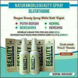 Beauty spray