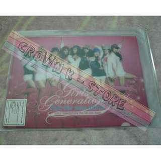 [CRAZY DEAL 90% OFF FROM ORIGINAL PRICE][READY STOCK]GIRLS GENERATION SNSD KOREA 1ST CONCERT OFFICIAL A4 SIZE FILE 2PC!ORIGINAL FROM KOREA (PRICE NOT INCLUDE POSTAGE)PLEASE READ DETAILS FOR MORE INFO; POSLAJU:PENINSULAR AREA :RM10/SABAH SARAWAK AREA: RM15