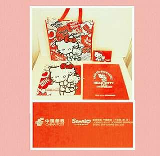 罕有中國郵政限量經典版:Hello Kitty 40週年套票❌明信片(經典限量收藏品)