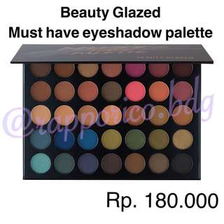 Beauty Glazed must have palette