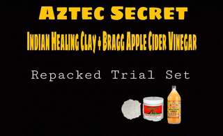 Aztec Secret Indian Healing Clay (Repacked Trial Set)