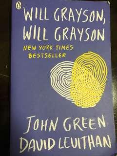 WILL GRAYSON, WILL GRAYSON john green novel