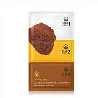INNISFREE - Jeju Volcanic Blackhead 3 step program 1ea