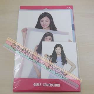 [CRAZY DEAL 90% OFF FROM ORIGINAL PRICE][READY STOCK]GIRLS GENERATION SNSD TIFFANY KOREA OFFICIAL  FILE 2PC+NOTEBOOK 1PC!ORIGINAL FR KOREA (PRICE NOT INCLUDE POSTAGE)PLEASE READ DETAILS FOR MORE INFO; POSLAJU:PENINSULAR AREA :RM10/SABAH SARAWAK AREA: RM15