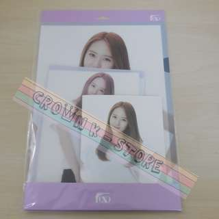 [CRAZY DEAL 90% OFF FROM ORIGINAL PRICE][READY STOCK]f(x) KRYSTAL KOREA OFFICIAL  FILE 2PC+NOTEBOOK 1PC!ORIGINAL FR KOREA (PRICE NOT INCLUDE POSTAGE)PLEASE READ DETAILS FOR MORE INFO; POSLAJU:PENINSULAR AREA :RM10/SABAH SARAWAK AREA: RM15