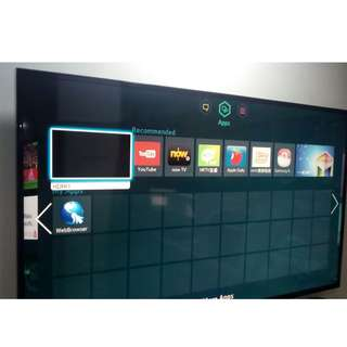 "55"" samsung 3D Smart TV"