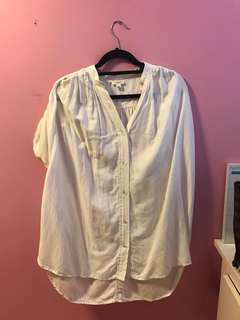 Aritzia Bertillion Blouse Size Small in Oak