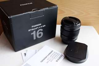 Fujifilm 16mm 1.4 R WR
