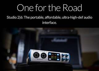 Presonus Studio 26 Audio Interface