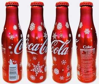 Limited Edition 2016 Christmas Special Coca-Cola Aluminium Coke Bottle