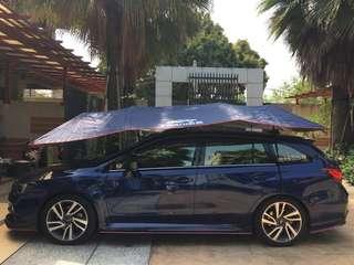 車頂遮陽傘