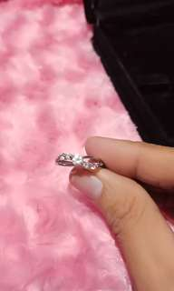 REPRICED!!!!Stainless diamond ring
