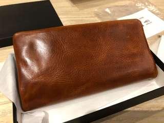 🚚 日本吉田 PORTERxSOAK牛皮 長夾 皮夾