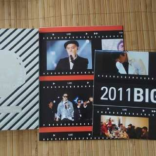 台壓 BIGBANG 2011 BIG SHOW MAKING DVD & PHOTO BOOK