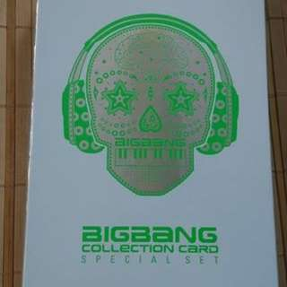 BIGBANG COLLECTION CARD (SPECIAL SET)